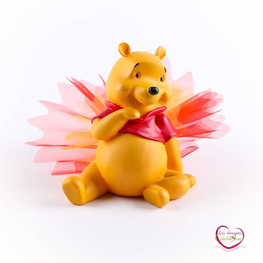 Ballotin A Dragee Bapteme Garcon Avec Decoration Theme Disney Winnie