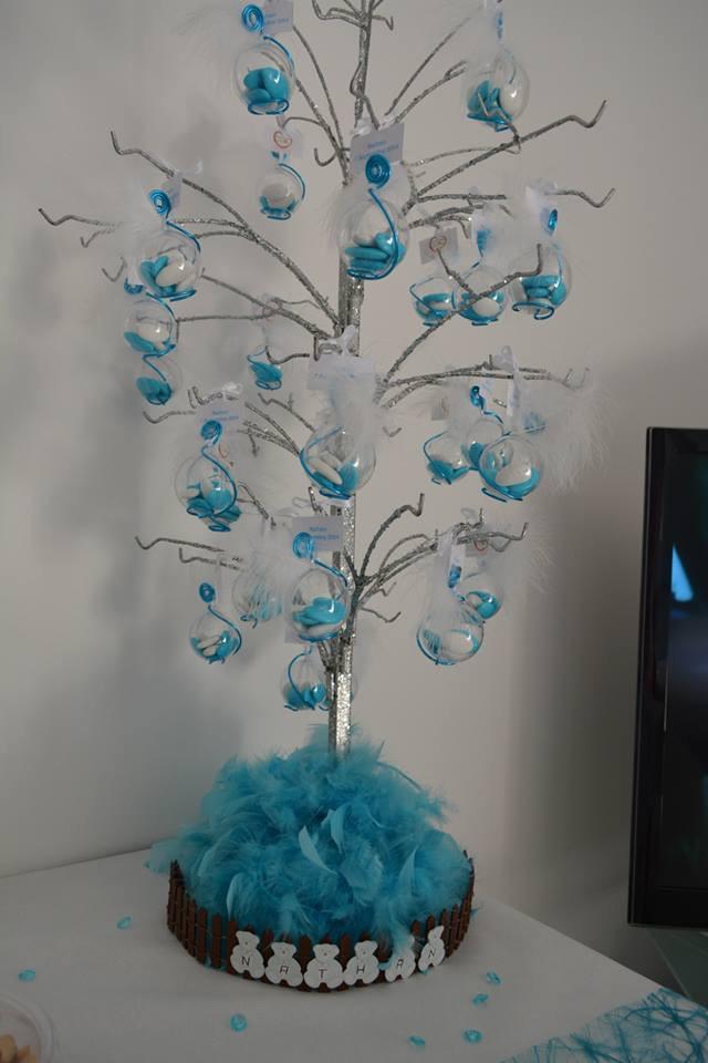 Support et decor a dragees arbre palmier vente drag es personnalis es mariage bapt me - Branche arbre decoration ...
