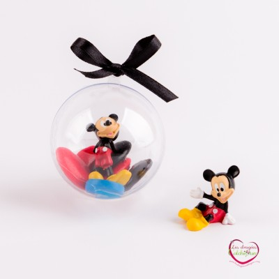 boule plexi dragees deco mickey