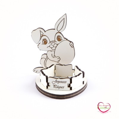 bougeoir pout table lapin